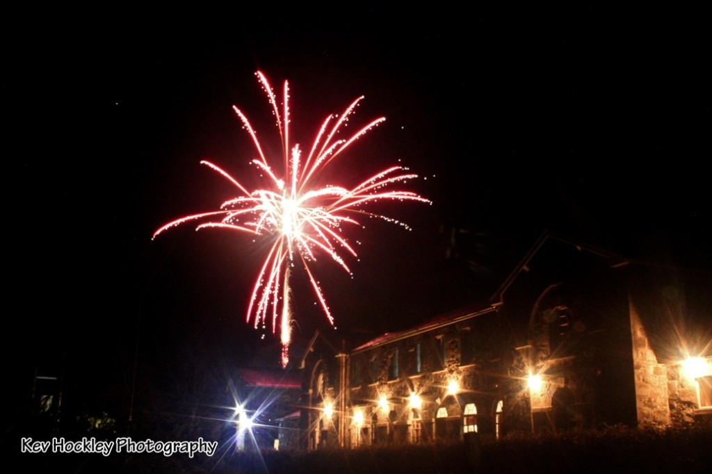 Fireworks above the workhouse 05