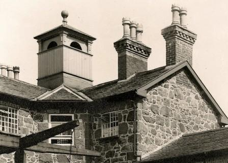 the Master's House with the cupola added in the 1960s.